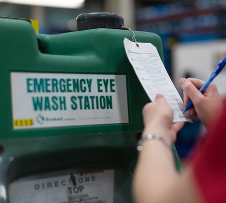 Eyewash Station Service from ITU First Aid
