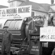 1930's World's Largest Washing Machine
